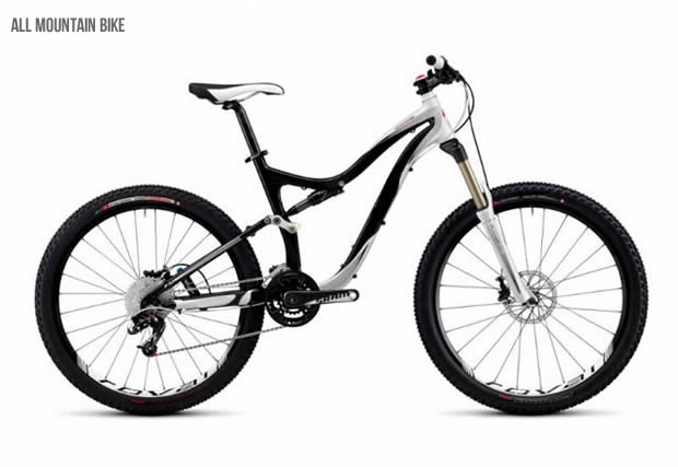 All mountain bicycle
