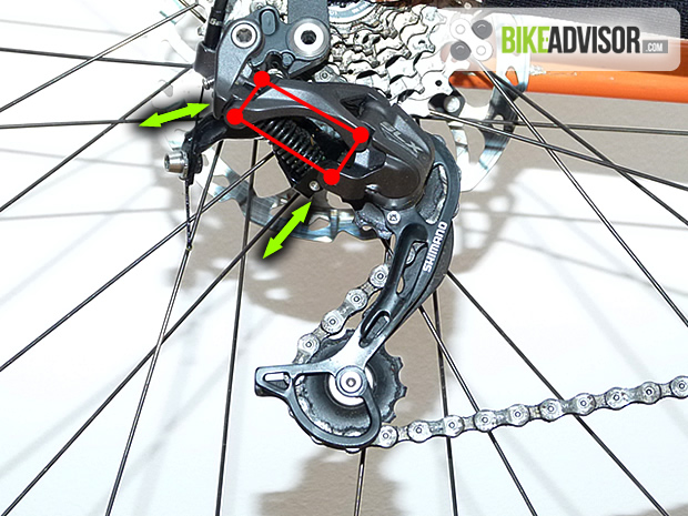 bike derailleur mechanics