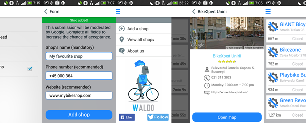 The Waldo Bike Shop Detector app does what its name says