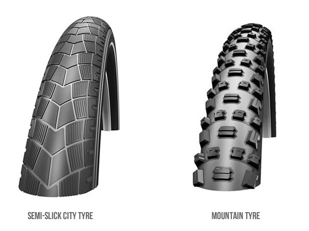 Bicycle tyre type